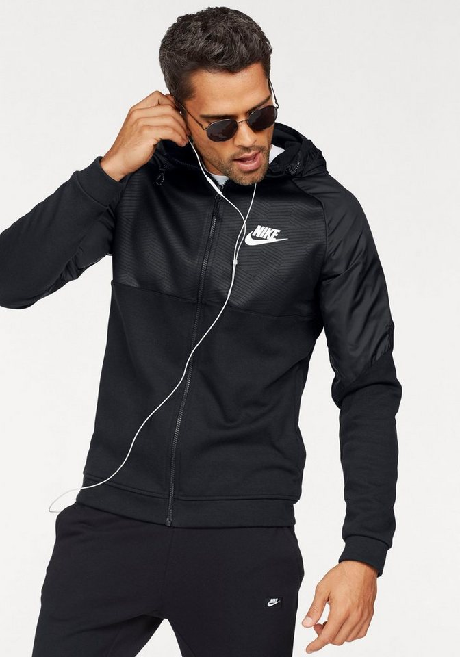 nike sportswear windbreaker m nsw av15 hoodie fullzip. Black Bedroom Furniture Sets. Home Design Ideas