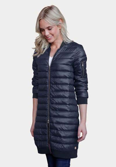Daunen mantel schwarz damen