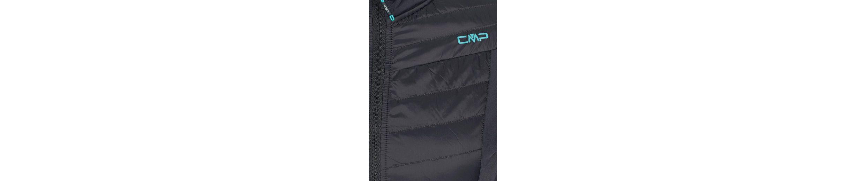 CMP Funktionsjacke, Hybrid aus Stretch und Steppeinsätzen