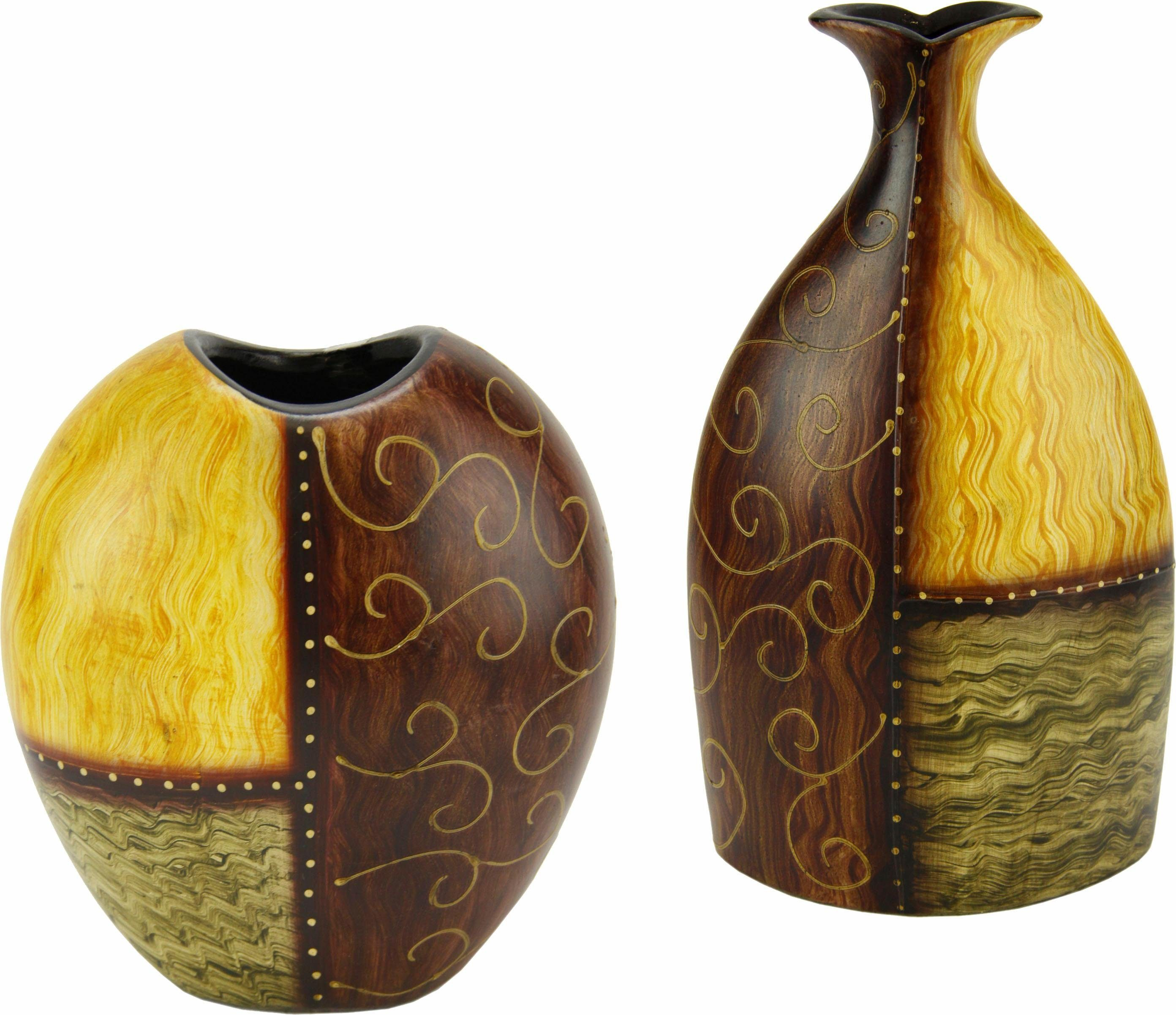 Home affaire »Vase Keramik« (2er Set)