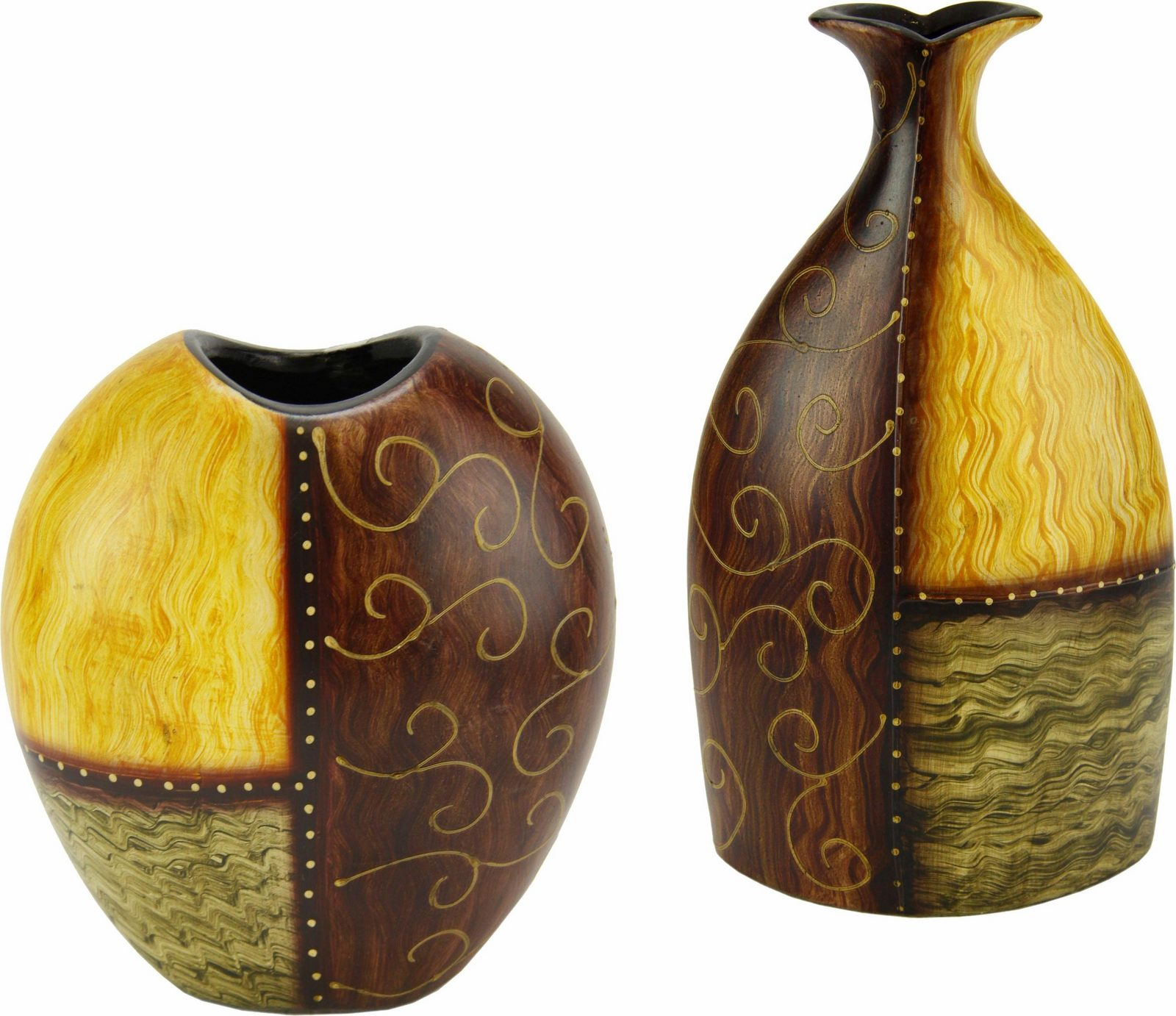 Home affaire »Vase Keramik« (2er Set)