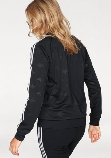 adidas Originals Trainingsjacke SST TRACK TOP, Mit allover Ton-in-Ton Logodruck