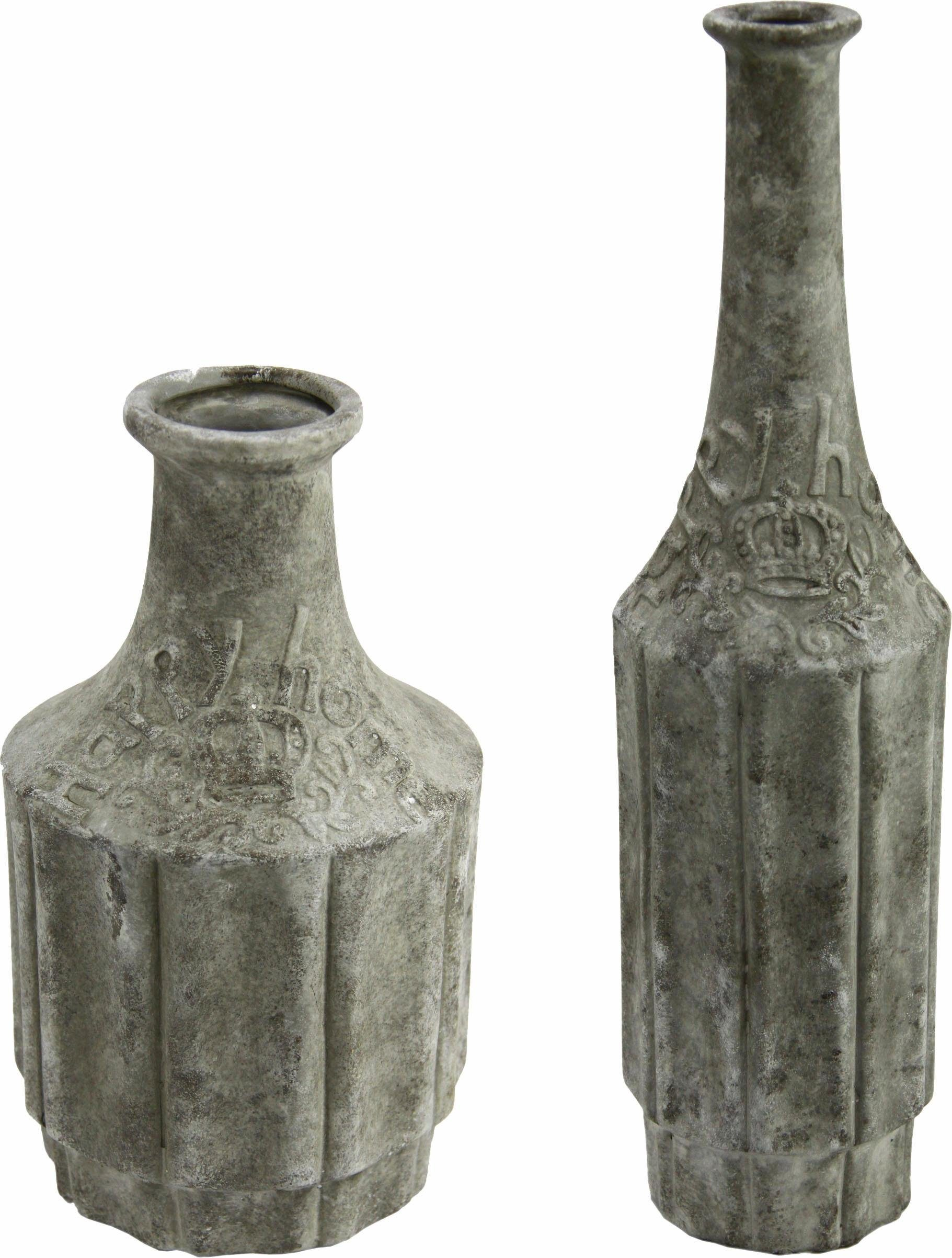 Home affaire »Beton-Vase« (2er Set)