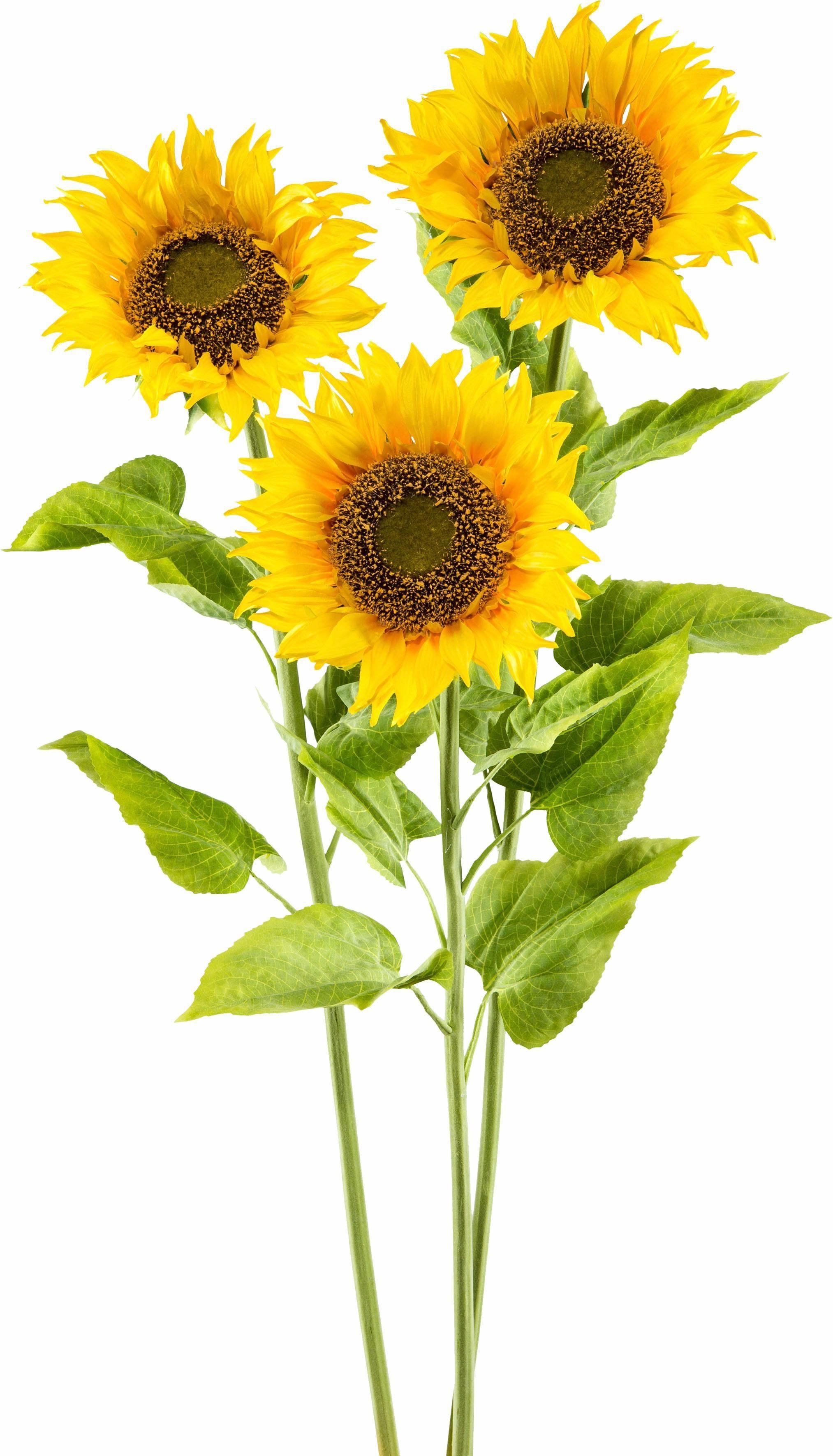 Kunstblume Sonnenblume »XL« (3er Set)