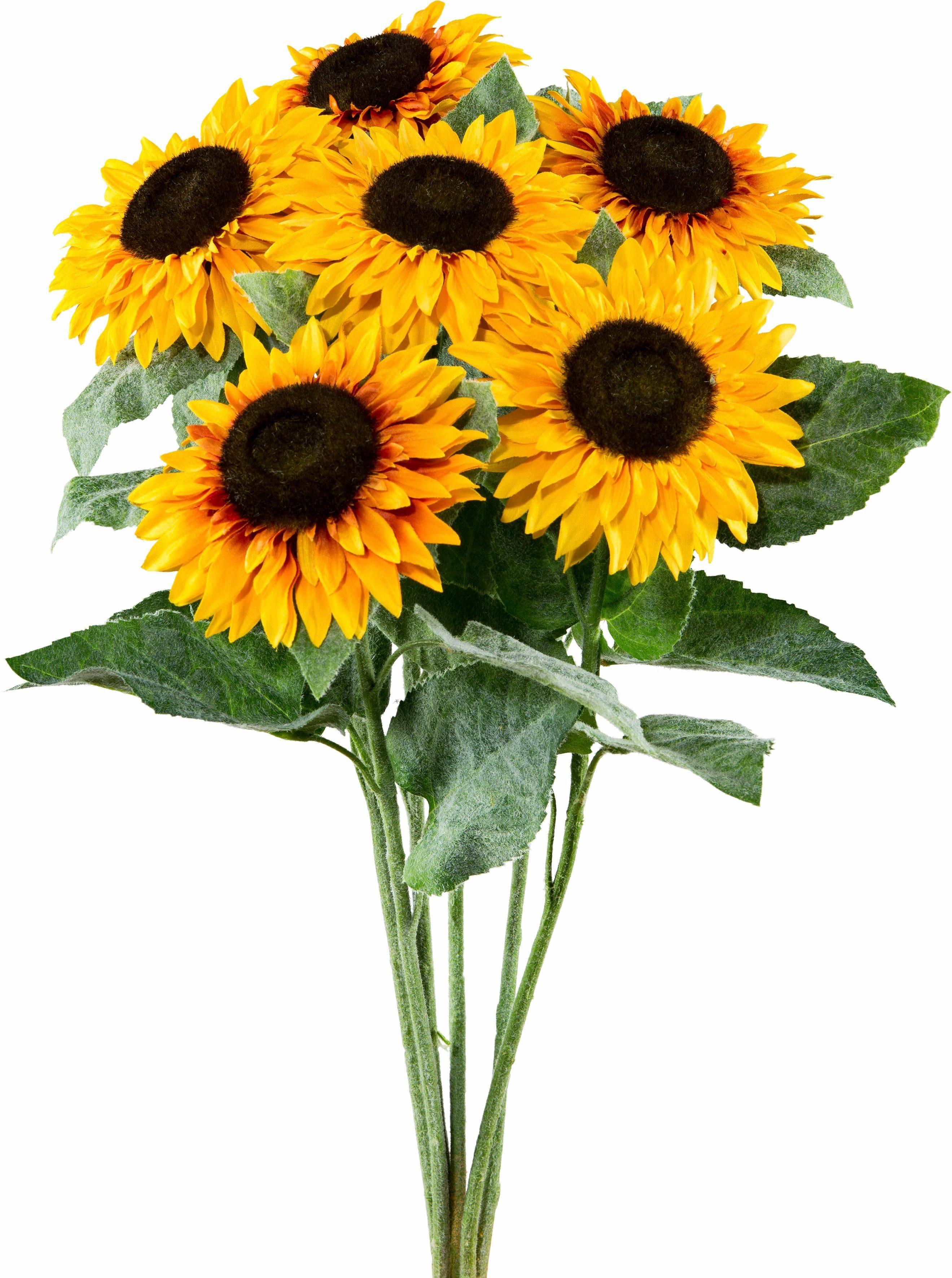 Kunstblume »Sonnenblume« (6-tlg.)