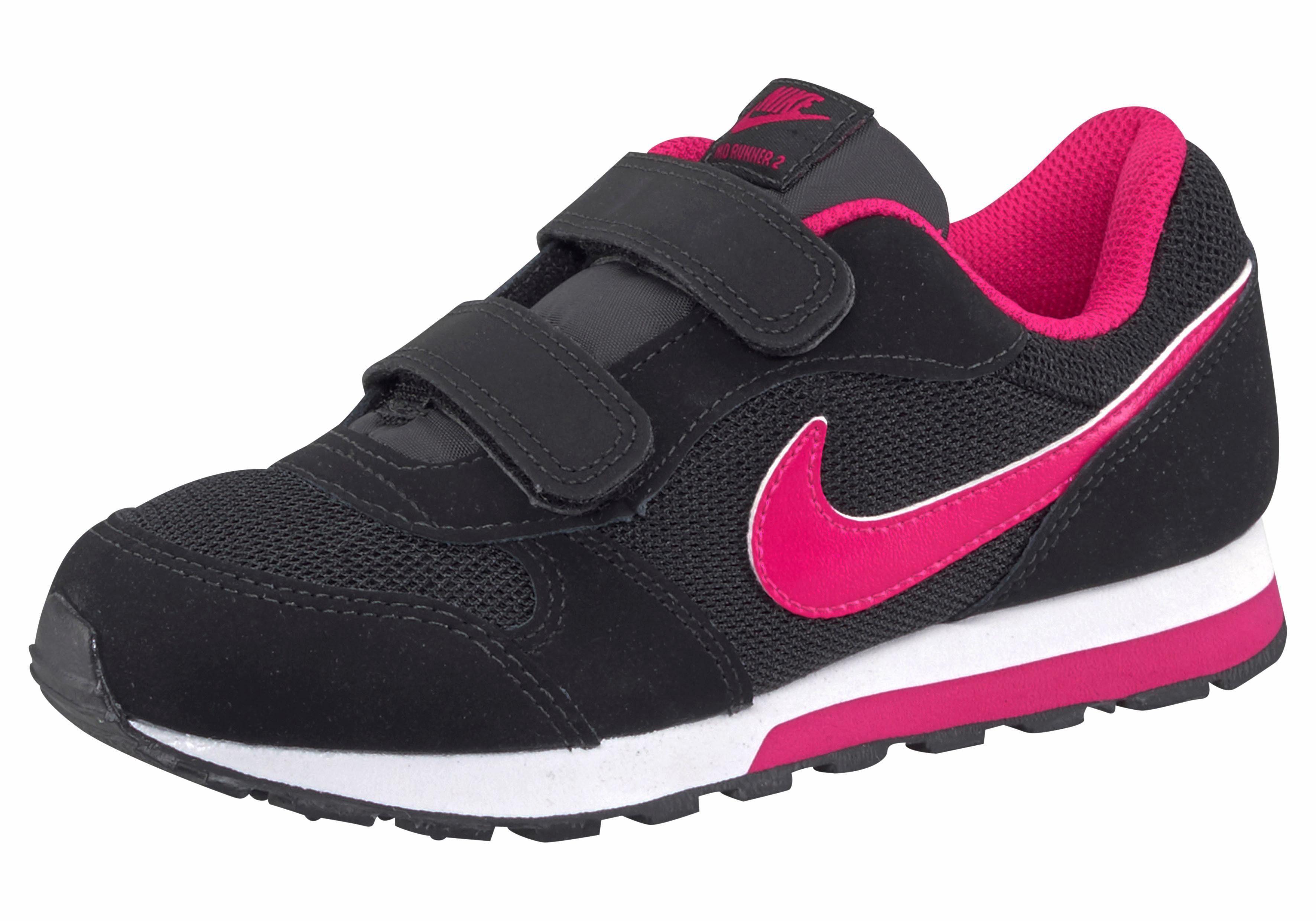 Nike Sportswear »MD Runner 2 (GS) K« Sneaker, schwarz, schwarz-pink