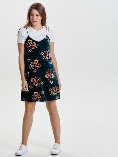 Only Detailreiches Kleid mit kurzen Ärmeln