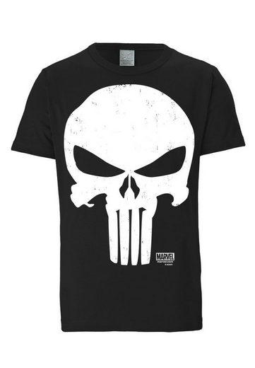 LOGOSHIRT Herrenshirt Punisher - Marvel
