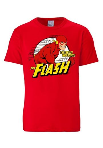 LOGOSHIRT Herrenshirt Der Rote Blitz - Flash