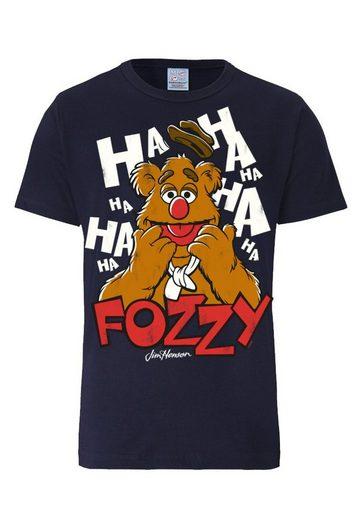 LOGOSHIRT Herrenshirt Fozzie Bär - Muppet Show