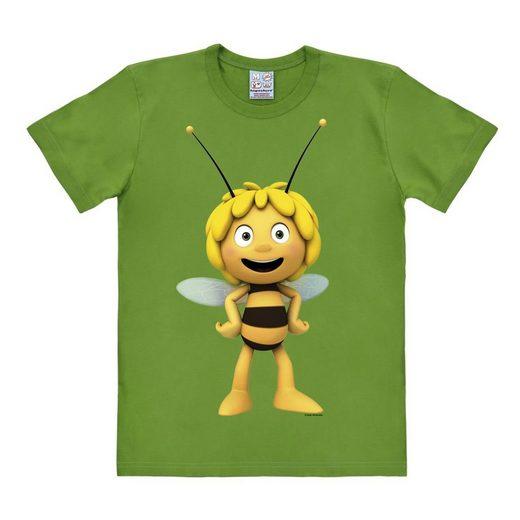 LOGOSHIRT Herrenshirt Biene Maja - Maja 3D