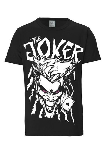 LOGOSHIRT Herrenshirt The Joker - DC Batman