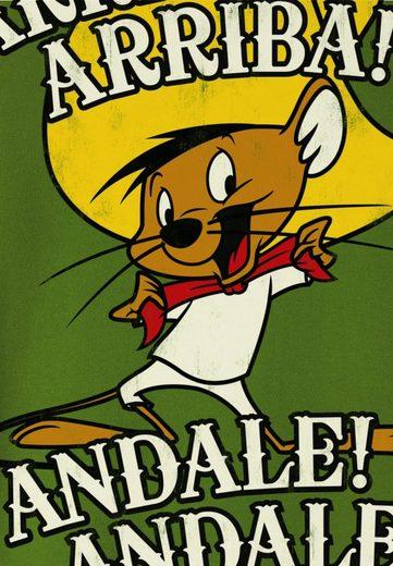 LOGOSHIRT Herrenshirt Speedy Gonzales - Looney Tunes