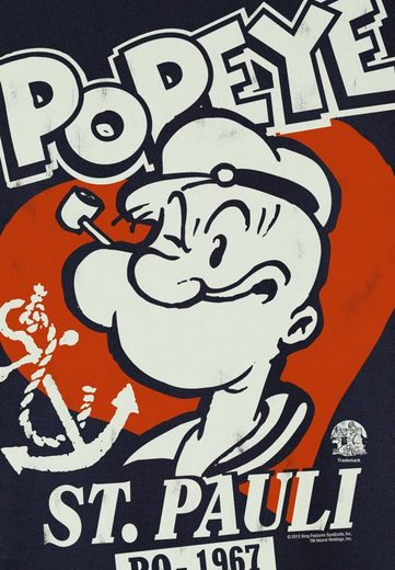 Logo Shirt Herr Shirt Popeye The Sailor - Pauli