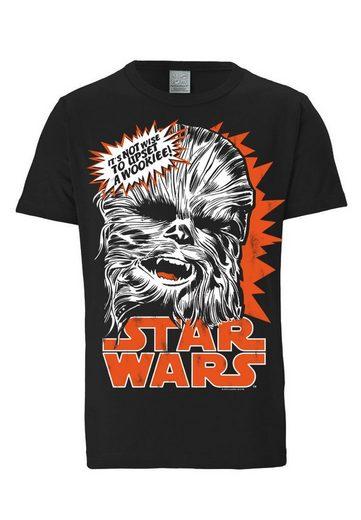 LOGOSHIRT Herrenshirt Chewbacca - Krieg der Sterne