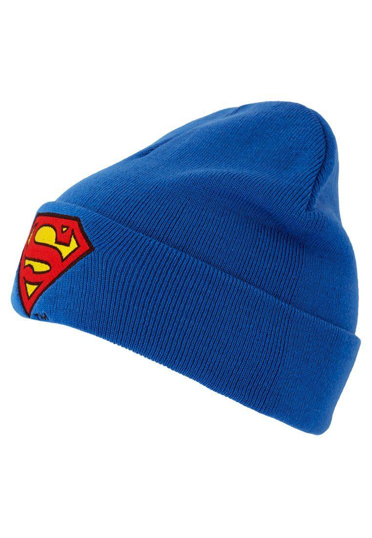 LOGOSHIRT Wollmütze »Superman – Logo«