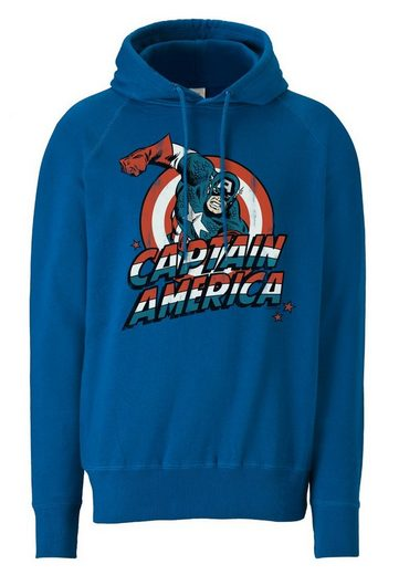 Logoshirt Kapuzenpullover Captain America
