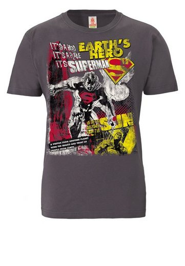 LOGOSHIRT Herrenshirt Superman