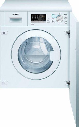 SIEMENS Einbauwaschtrockner iQ500 WK14D541, 7 kg/4 kg, 1400 U/Min, Die Möbelfront ist nicht im Lieferumfang enthalten