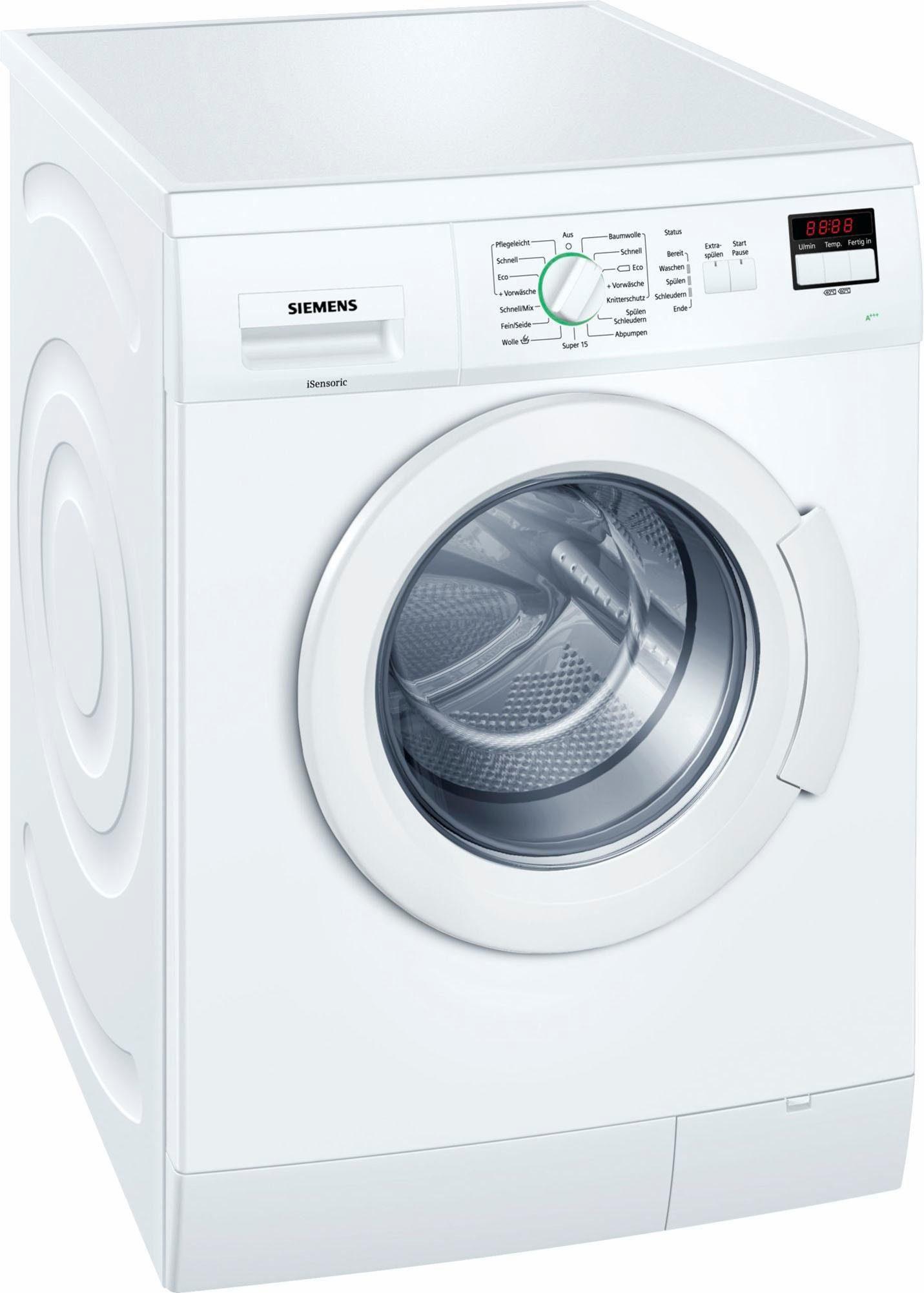 SIEMENS Waschmaschine WM14E220, 7 kg, 1400 U/Min