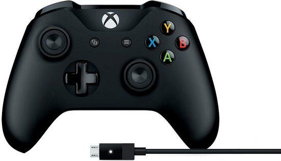 Xbox One »Wireless« Controller (inkl. Kabel für Windows)