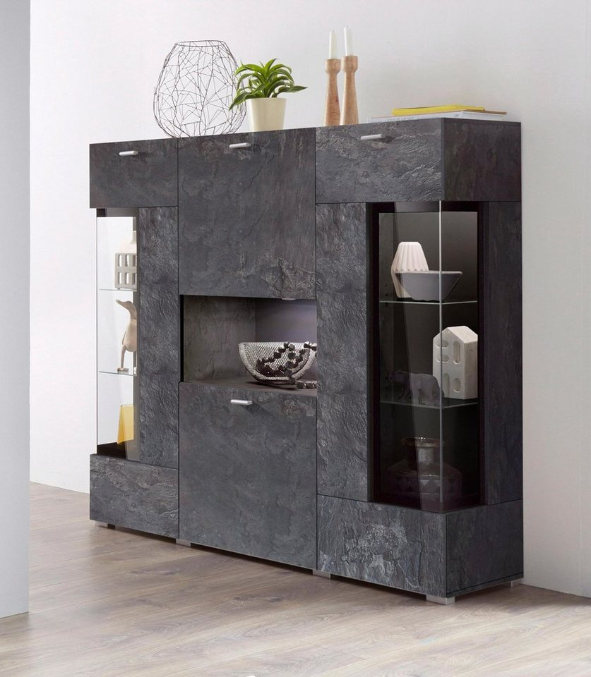 highboard breite 132 cm online kaufen otto. Black Bedroom Furniture Sets. Home Design Ideas