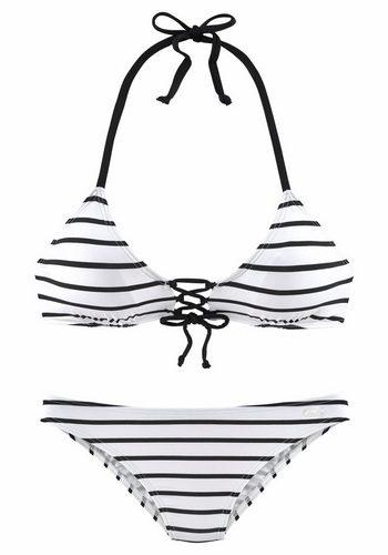 Damen Kangaroos Triangel-Bikini weiß | 04893865855993
