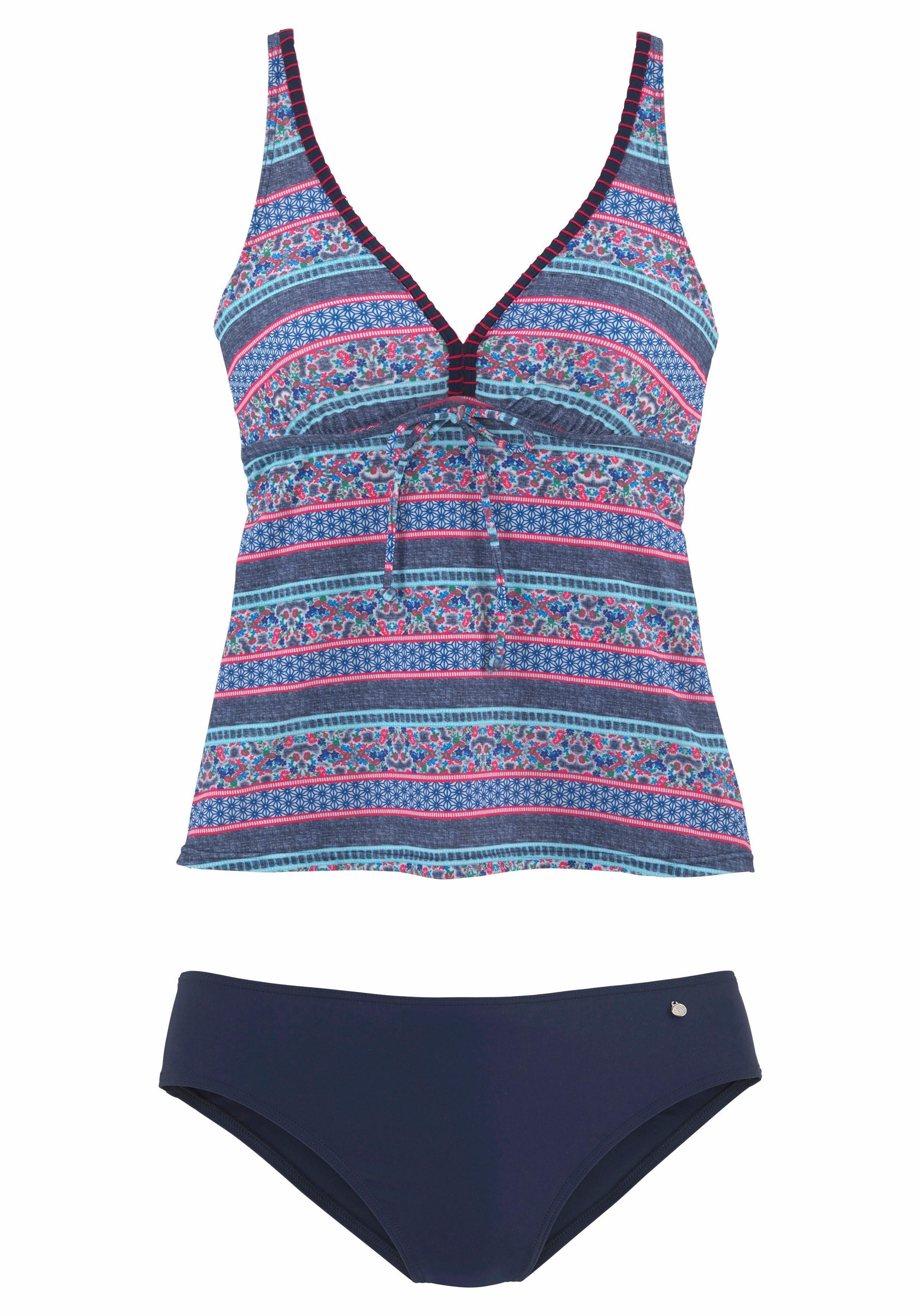 s.Oliver RED LABEL Beachwear Bügel-Tankini   Bekleidung > Bademode > Tankinis   Patchwork   s.Oliver RED LABEL Beachwear