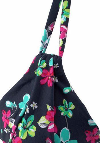 Damen s.Oliver RED LABEL Beachwear Triangel-Top Valencia im Blumendesign blau | 04893848821342