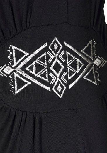 Buffalo Strandkleid mit Stickerei