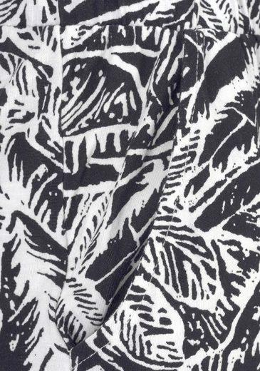 Buffalo Strandhose mit Blätterdruck