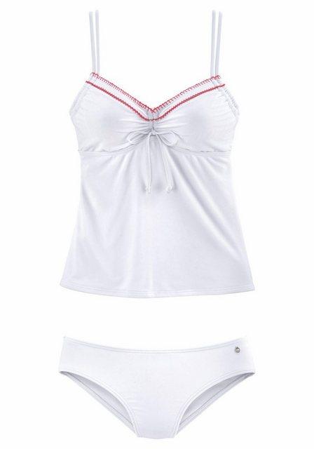 s.Oliver Beachwear Bügel-Tankini mit Häkelkante   Bekleidung > Bademode > Tankinis   s.Oliver Beachwear