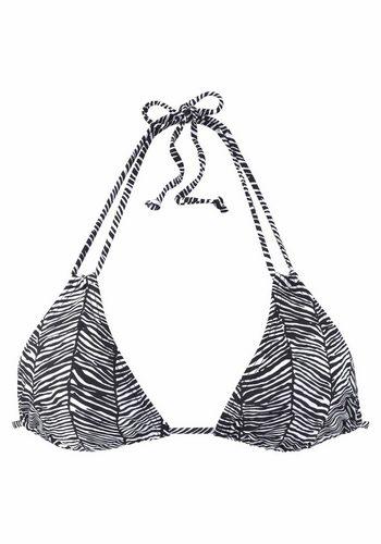 Damen Venice Beach Triangel-Top Sugar mit Doppelträgern schwarz | 04893865851117