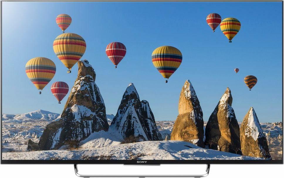 Sony BRAVIA KDL-55W805C, LED Fernseher, 139 cm (55 Zoll), 1080p (Full HD), Smart-TV