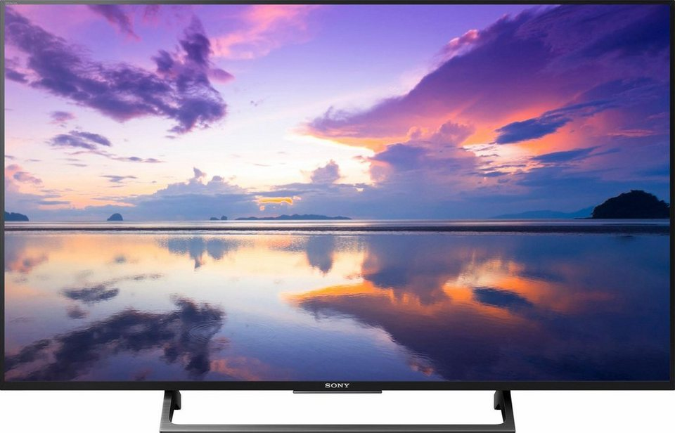 sony kd43xe8005baep led fernseher 108 cm 43 zoll 4k. Black Bedroom Furniture Sets. Home Design Ideas