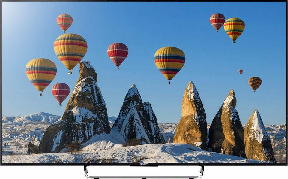 sony bravia kdl 65w855c led fernseher 164 cm 65 zoll 1080p full hd smart tv online. Black Bedroom Furniture Sets. Home Design Ideas