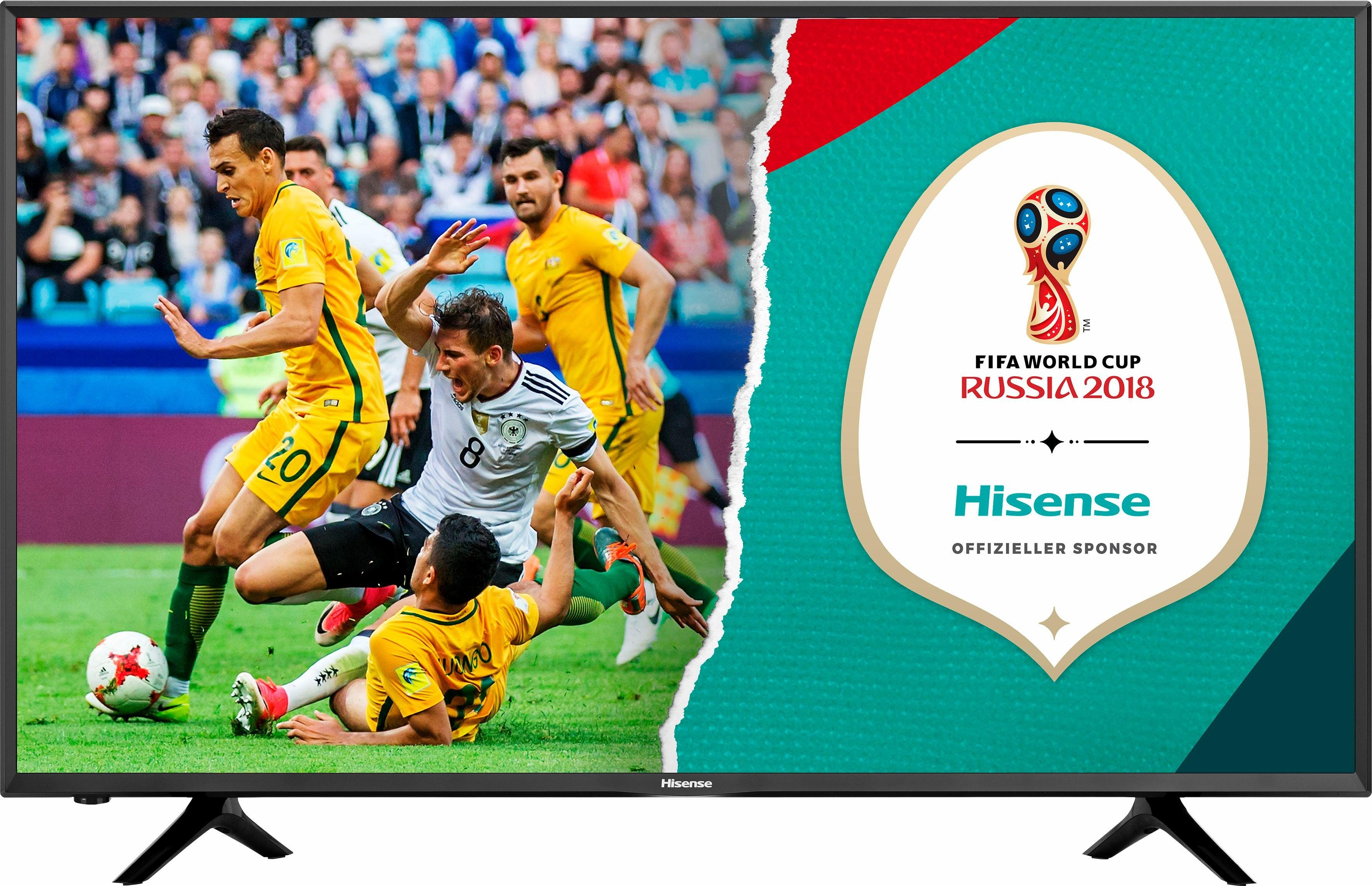 Hisense H50NEC5205 LED-Fernseher (50 Zoll, 4K Ultra HD, Smart-TV)