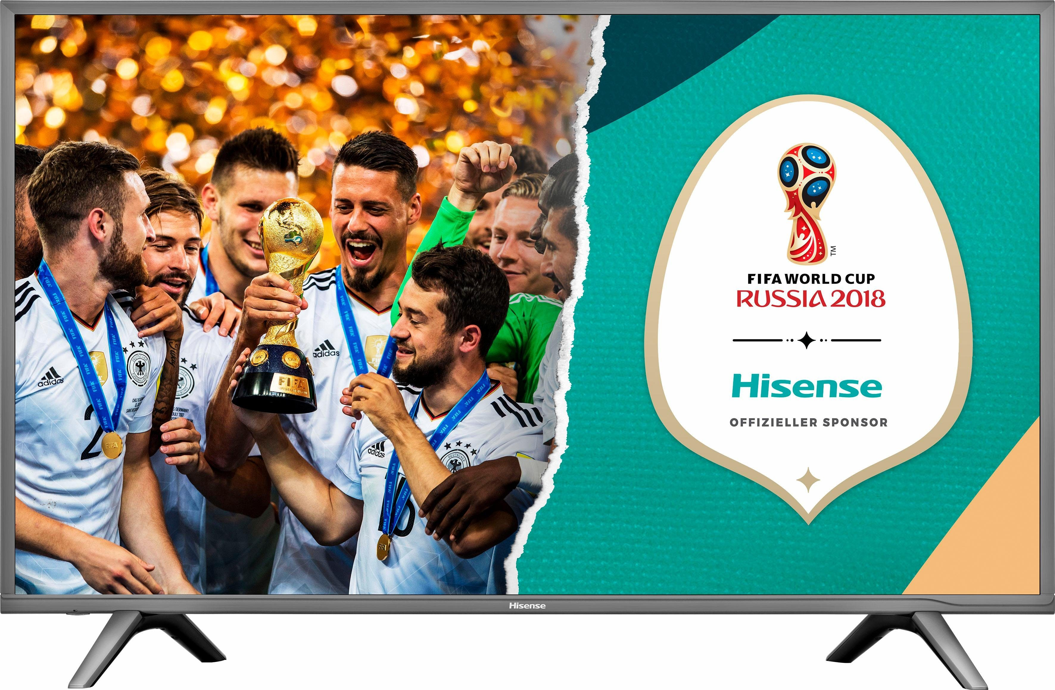 Hisense H60NEC5605 LED-Fernseher (151 cm/60 Zoll, 4K Ultra HD, Smart-TV)