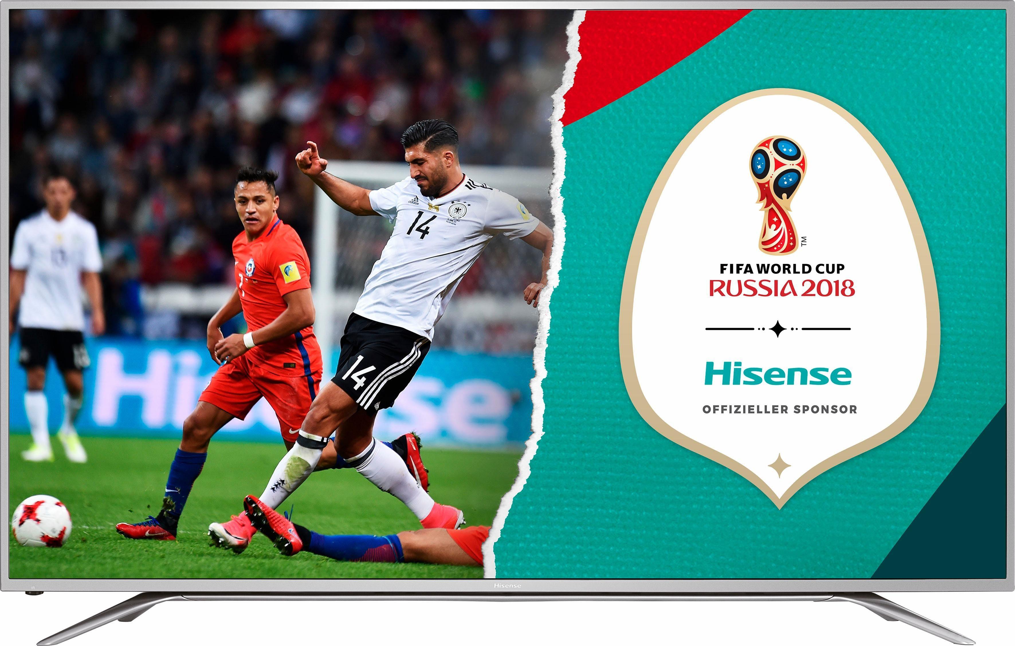 Hisense H65MEC5550, LED Fernseher, 163 cm (65 Zoll), 2160p (4K Ultra HD), Smart-TV