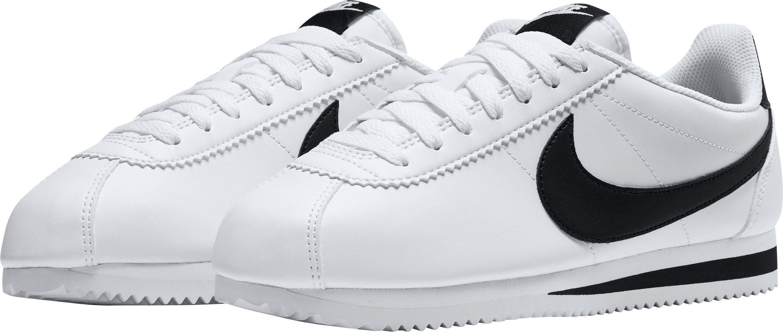 Nike Sportswear Classic Cortez Leather Sneaker  weiß-schwarz
