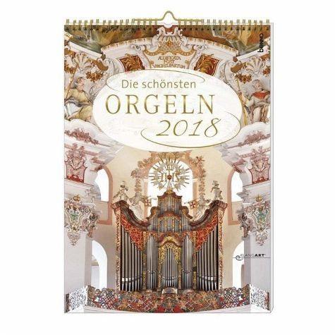 Kalender »Die schönsten Orgeln 2018 mit CD«