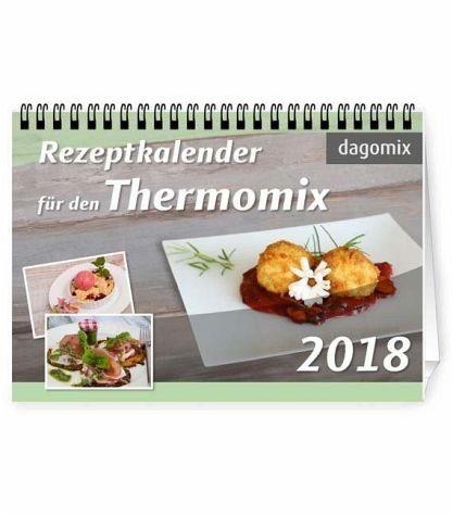 Kalender »Rezeptkalender für den Thermomix 2018«