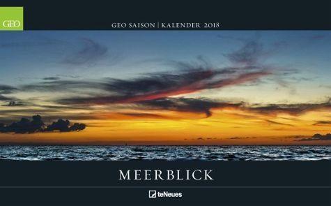 Kalender »GEO Saison: Meerblick 2018«