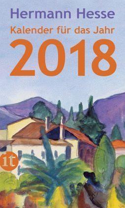 Broschiertes Buch »Insel-Kalender für das Jahr 2018«