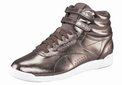 Reebok Classic »Freestyle Hi Metallic« Sneaker dde9572e8d