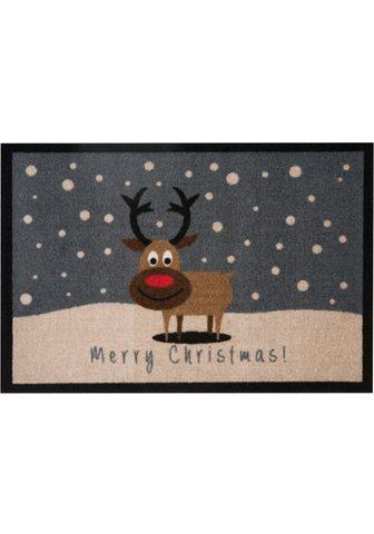 HANSE HOME Durų kilimėlis »ChristmasReindeer« rec...