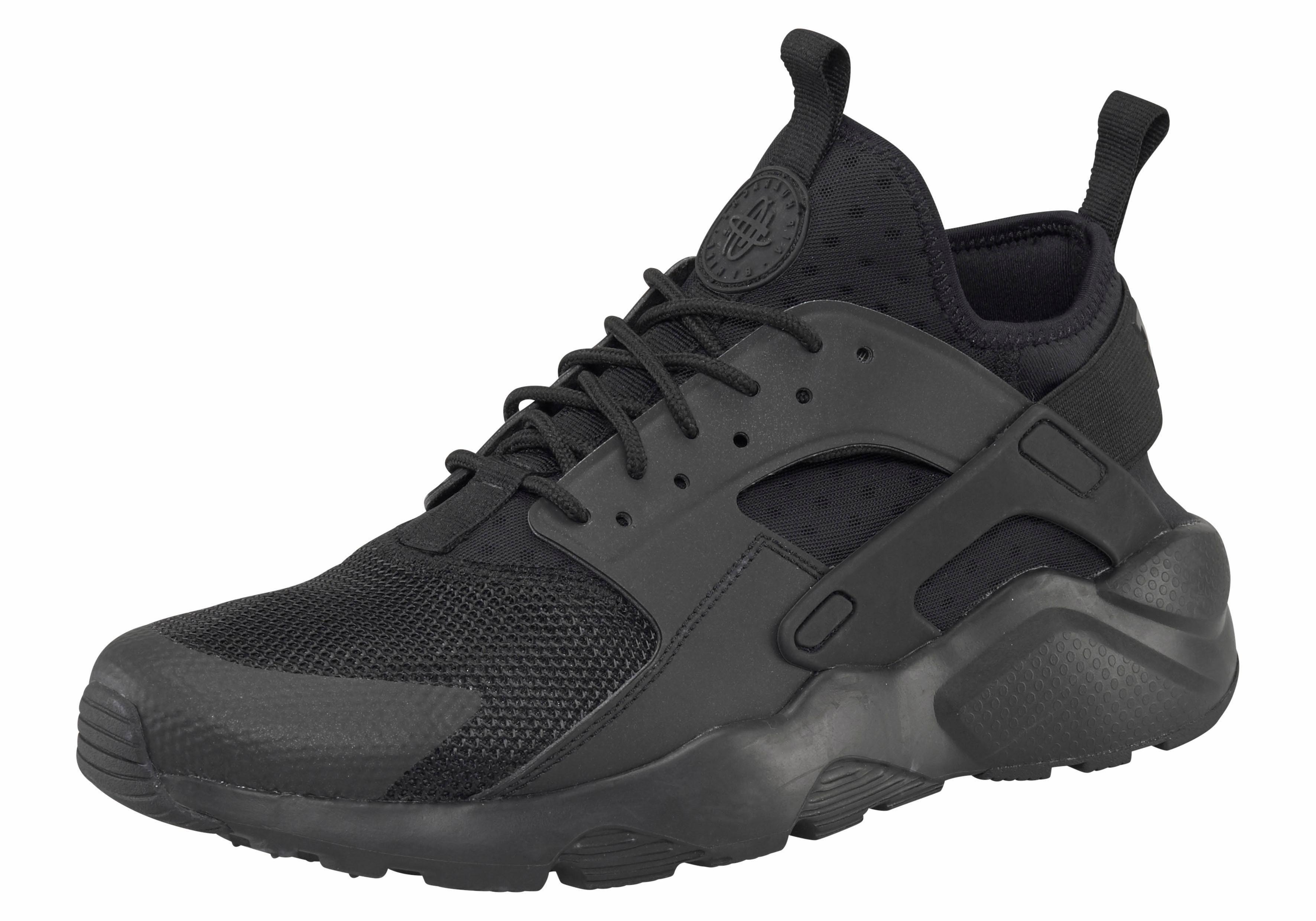 Nike Sportswear Air Huarache Run Ultra Sneaker  schwarz-schwarz