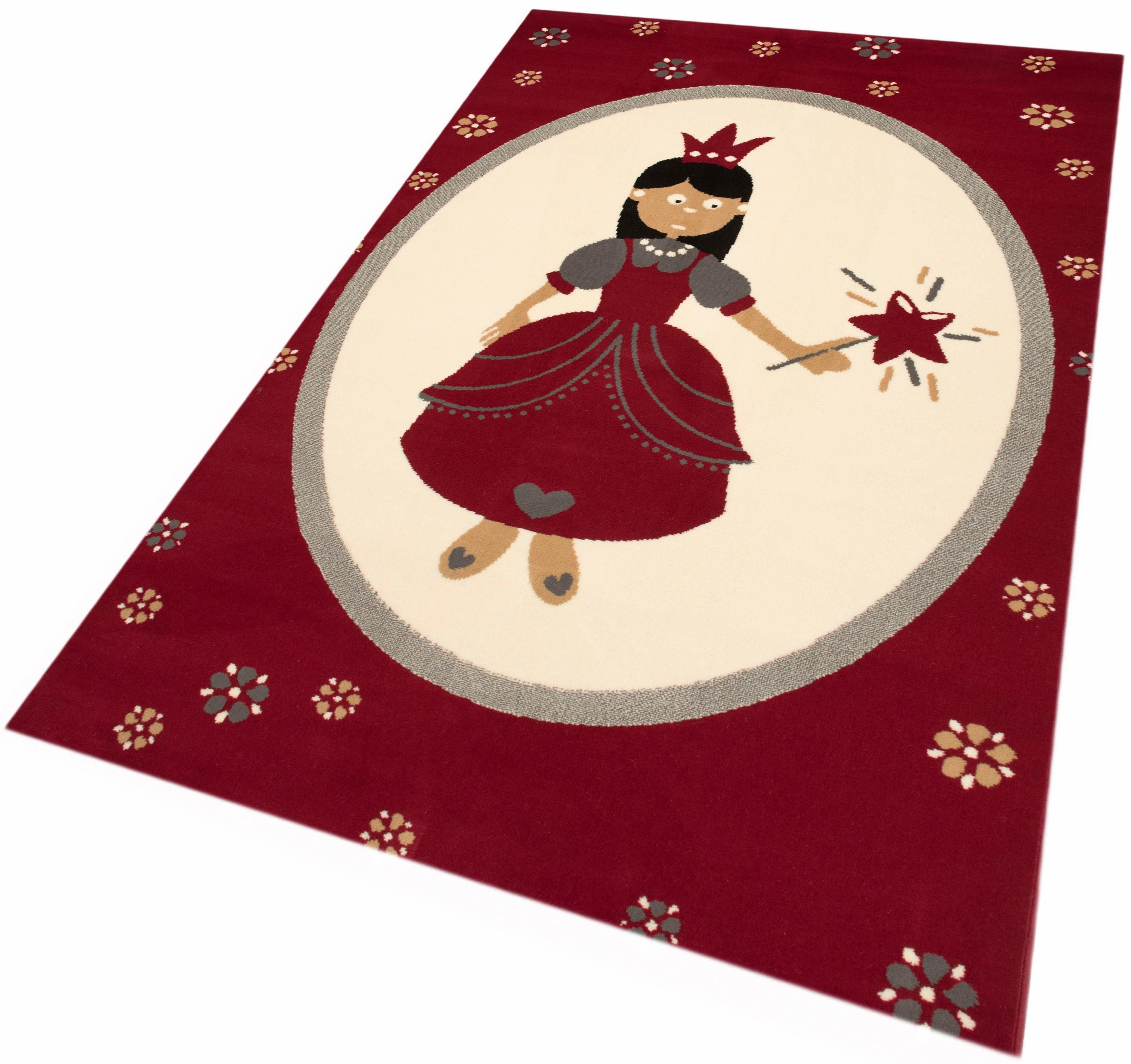 Kinderteppich »Prinzessin«, Zala Living, rechteckig, Höhe 9 mm