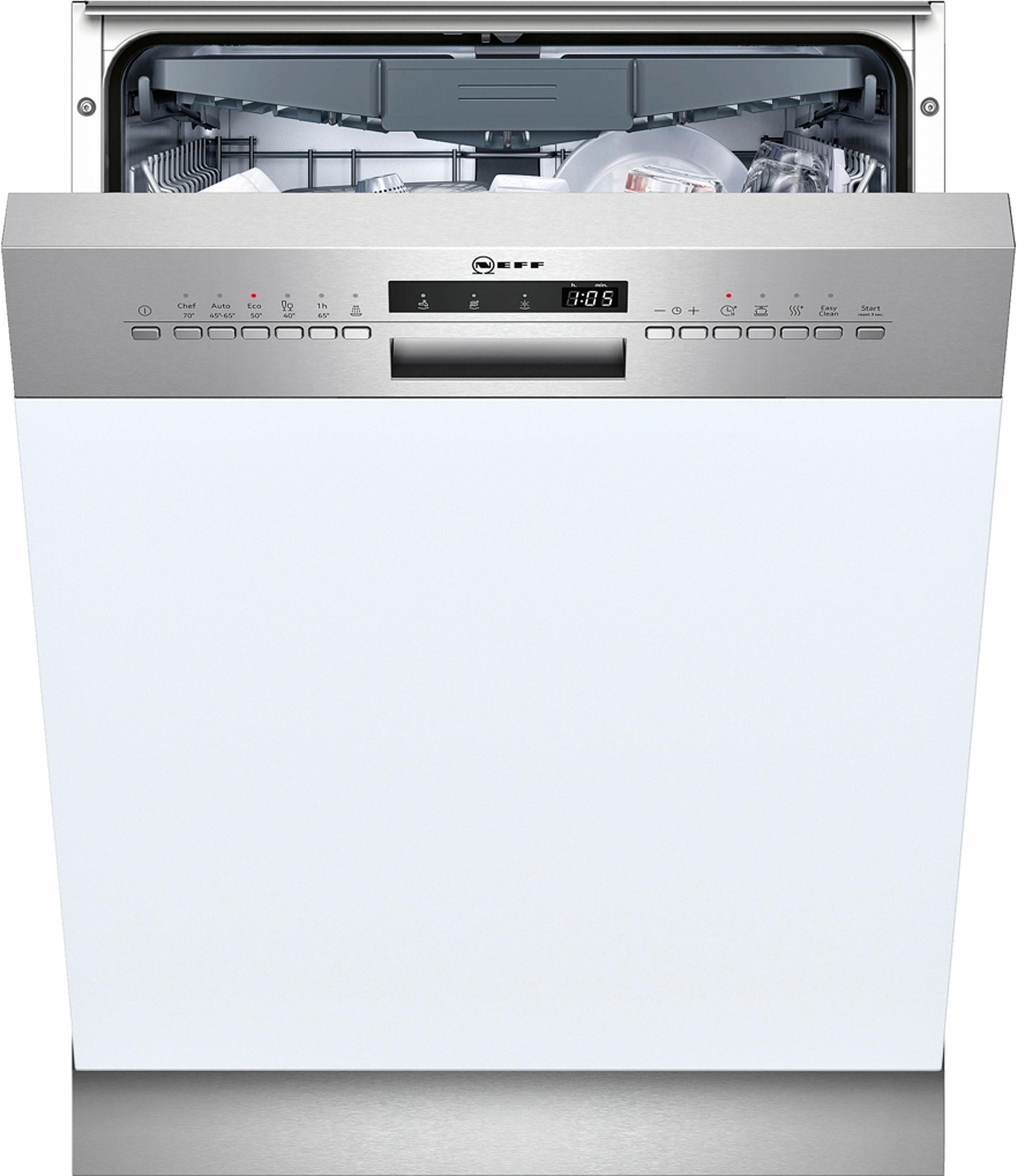NEFF teilintegrierbarer Geschirrspüler, GI4603MN / S413M60S3E, 9,5 l, 14 Maßgedecke