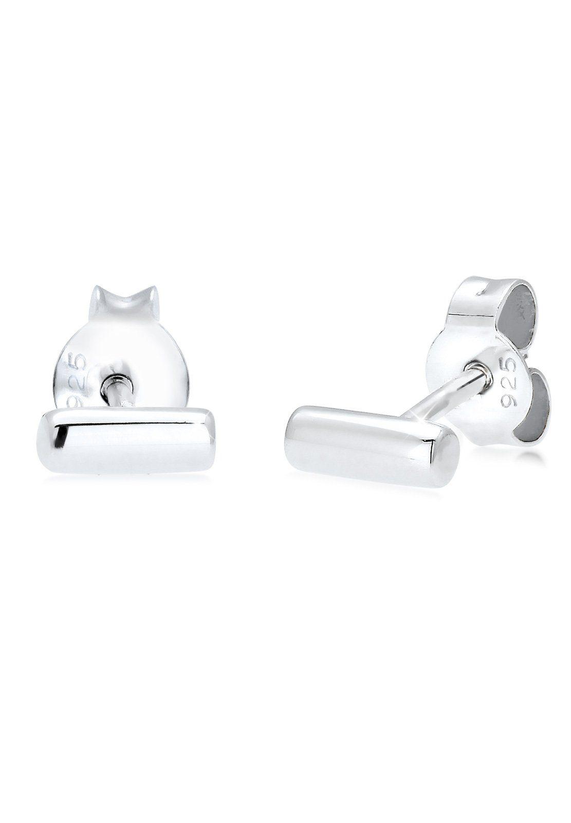 Elli Ohrringe »Stab Basic Geo Minimal Trend Filigran 925 Silber«